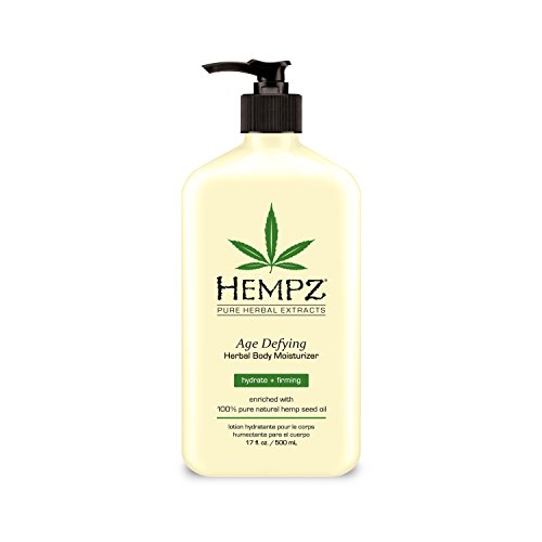 Hempz Body Moisturizer – Daily Herbal Moisturizer, Shea Butter Anti-Aging Body Moisturizer – Body Lotion, Hemp Extract Lotion – Skin Care Products, 100% Pure Organic Hemp Seed Oil
