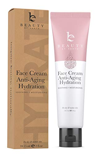 Face Cream Anti Aging Hydration – Natural & Organic Ingredients, Face Moisturizer for Dry Skin, Anti Aging Face Cream, Anti Aging Moisturizer for Face, Anti Wrinkle Cream for Women (1 Tube)