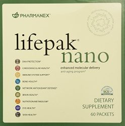 Pharmanex LifePak Nano anti-aging dietary supplement – 60 packets