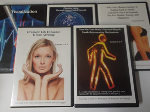 The Association of Health and Anti Aging Lectures 1-5 Audiobook