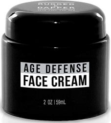 RUGGED & DAPPER Face Cream for Men, Anti-Aging Day and Night Cream, 2 Oz