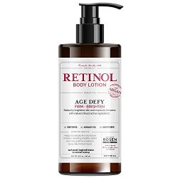 Rosen Apothecary Anti-Aging Retinol Body Lotion – Age Defy – Body Firms & brightens 32oz / 960ml