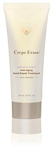 Crépe Erase Advanced Anti Aging Hand Repair Treatment with TruFirm Complex, Lavender Honey, 3 Oz