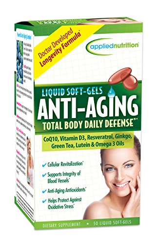 Applied Nutrition Anti-aging Total Body Daily Defense, 50-Count