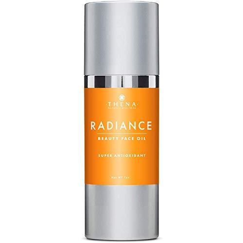 Anti aging Face Oil Serum With Vitamin C & E Hyaluronic Acid Jojoba Argan Rosehip Essential Oils, Organic Natural Facial Moisturizer Lotion Best Beauty Product For Dry Sensitive Skin Care Women Men