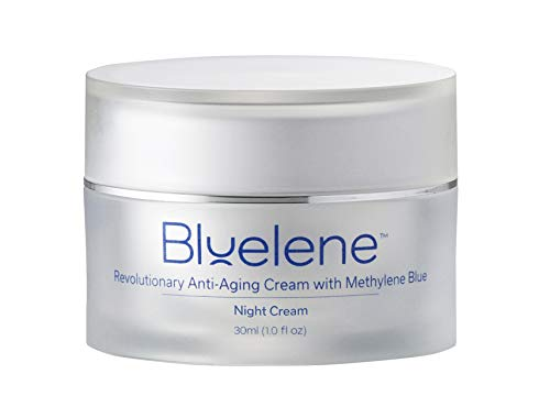 Anti Aging Night Cream, Bluelene. Revolutionary Anti Wrinkle Face Cream with Methylene Blue (30 ml)