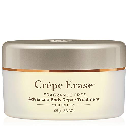 CrÃpe Erase Advanced – Advanced Body Repair Treatment with Trufirm Complex & 9 Super Hydrators – Fragrance Free – Introductory Size/3.3 Ounce