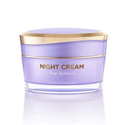 Overnight Miracle Glow Night Cream – Anti-Aging Retinol, Moisturizing Hyaluronic Acid, Jojoba Oil & Squalane Help Hyperpigmentation, Oil and Acne-Prone Skin. Vegan And Clean Skin Care.