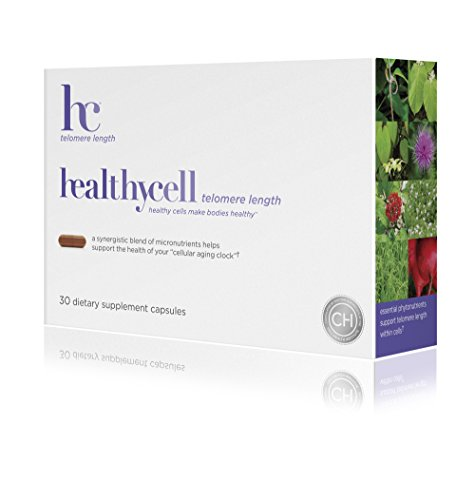 Healthycell Telomere Length Supplement with AC-11 – Supports Lengthening of Telomeres Safely Through DNA Repair – Anti Aging Product for Healthy Aging – Cell Health – Lifespan – Stem Cell – Non-GMO