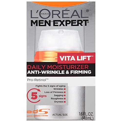L'Oreal Paris Skincare Men Expert VitaLift Anti-Wrinkle & Firming Face Moisturizer with Pro-Retinol 1.6 fl. oz.