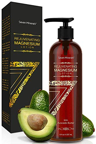 NEW Rejuvenating Magnesium Body Lotion – Healthy Daily Moisturizer – NO Endocrine Disruptors. A Total Skin Spa With Silky Avocado Butter, Anti-Aging Royal Jelly, Organic Essential Oils & More!