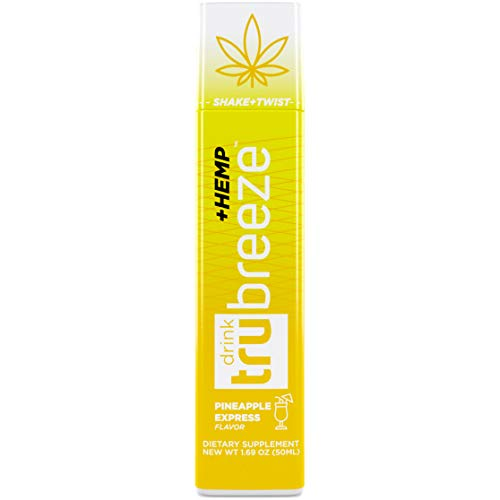 Tru Breeze Drink – Natural Keto Relaxation Supplement Plus Hemp – Flavored Pineapple Express (4)