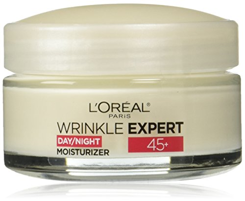 L'Oreal Paris Skincare Wrinkle Expert 45+ Anti-Aging Face Moisturizer with Retino-Peptide, Non-Greasy, Suitable for Sensitive Skin, 1.7 fl. oz.