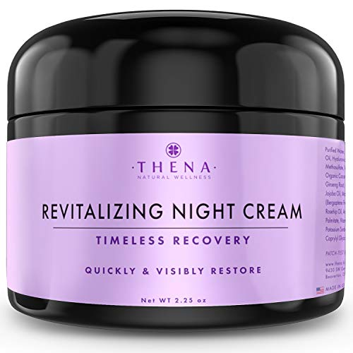 Night Cream Anti Aging Wrinkle Cream With Hyaluronic Acid Vitamin A (Retinol), Organic Natural Skincare Under Eye Cream For Dark Circles, Antiaging Skin Care Women Men Facial Face Moisturizer