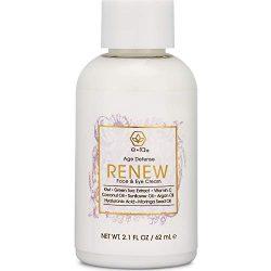 Anti Aging Face Moisturizer Cream – Rejuvenating Face & Eye Cream With Hyaluronic Acid, Jojoba Oil, Green Tea & More – Premium Natural & Organic Skin Care for Wrinkles & Under Eye Bags Era-Organics