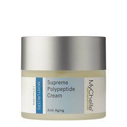 MyChelle Dermaceuticals Supreme Polypeptide Cream Scented -Nutrient Rich moisturizer, Anti-Aging & Skin Firming Formula, Cruelty-Free, sulfate & Paraben Free, 1.2 Fl Oz