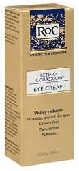 RoC Eye Cream, Retinol Correxion 0.5 oz (Pack of 3)