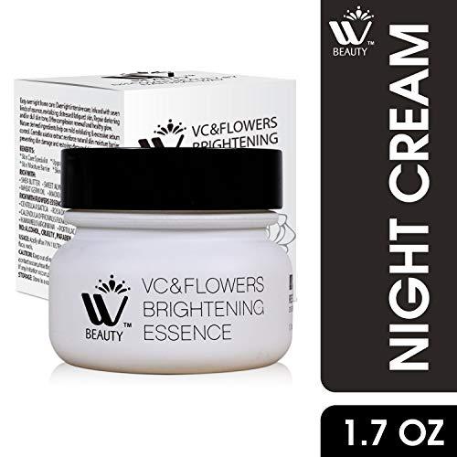 WBM Restoring Night Cream For Face   Anti-Aging Retinol Cream Moisturizer   Skin Renewing Face Cream With Hydro-Rich Essence   1.7 Oz