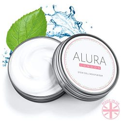 ALURA Natural Anti-Aging Hyaluronic Acid Moisturizer | 2.0 Fl Oz Stem Cell Face Cream | Vegan Skin Care In Aluminum Packaging | Animal Cruelty-Free | No Parabens or Sulphates | Made In The U.K.