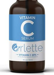 Orlette Vitamin C Serum For Face – With Hyaluronic Acid & Vit E – Skin Treatment Formula – Natural Anti Aging Moisturizer, Facial Acne Removal – Wrinkles, Dark Circles, Scar, Pore Minimizer, Reducer