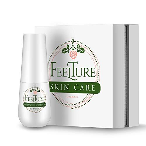FeelTure Skincare Hydration Hyaluronic Acid Serum for Face Moisturizing Anti-aging Anti Wrinkle 30g(1 Fl.Oz)