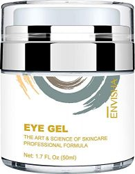 Wumal Eye Gel Cream for Appearance of Dark Circles, Puffiness, Wrinkles and Bags – Effective Anti Aging Eye Cream for Men and Women