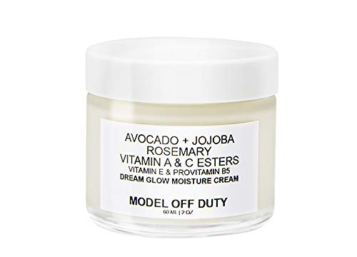 Model off Duty Beauty Dream Glow Moisture Cream | Anti Aging Face Cream, Neck Cream, Vitamin C Cream, Vitamin E Cream | Natural Face Moisturizer For Acne Scar Removal, Dark Circles & Wrinkle | 2.0 oz