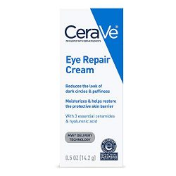 CeraVe Eye Repair Cream   0.5 oz   Eye Cream for Dark Circles & Puffiness   Packaging May Vary