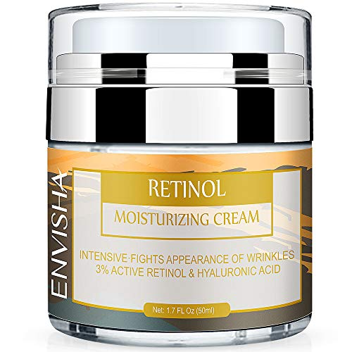 Wumal Retinol Moisturizer Cream for Face and Eye Area – Anti Aging Infused with 3% Active Retinol, Hyaluronic Acid & Vitamin E – Reduce Wrinkles, Fine Lines, Fades Sun Spot