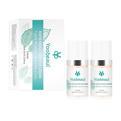 Rapid Reduction Eye Cream,Under-Eye Bags Treatment, Fights Wrinkles and Fine Lines, Reduces Appearance of Dark Circles,Instant Anti-Wrinkle Anti-Aging Eye Cream,Instant Results within 120 Seconds 2Pcs