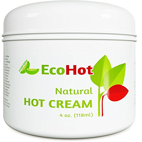 Natural Skin Tightening Cream – Anti Aging Body Treatment for Women + Men – Anti Cellulite Stretchmark + Scar Remover – Muscle Pain Relief – Antioxidant Hot Cream Gel Moisturizer For Dry + Saggy Skin