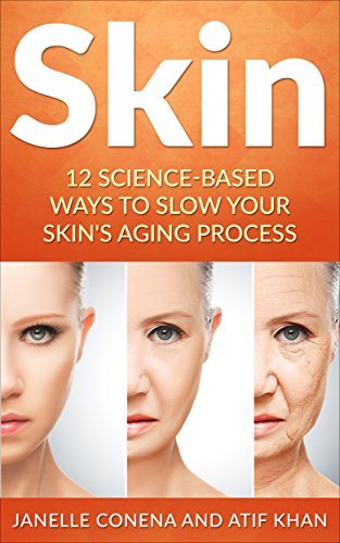 Skin: 12 Science-Based Ways to Slow Your Skin's Aging Process (Anti-Aging, Wrinkles,Treatment, Youthfulness, Home remedies, Natural, Herbal)