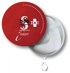 Spa Treatment HAS Stretch iSheet, Anti-Aging for Your Under Eye (60 sheets)