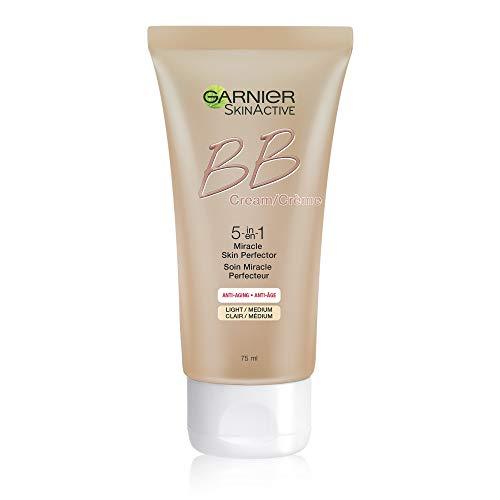 Garnier SkinActive BB Cream Anti-Aging Face Moisturizer, Light/Medium, 2.5 Ounce