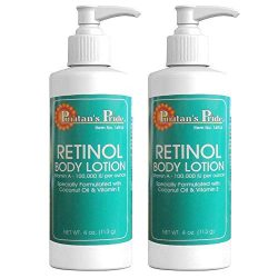 Puritan's Pride 2 Pack of Retinol Body Lotion (Vitamin A 100,000 IU Per Ounce) Puritan's Pride Retinol Body Lotion (Vitamin A 100,000 IU Per Ounce)-4 Lotion