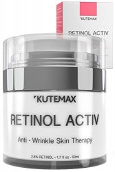 Retinol Night Cream – Anti-Age Formula – Reduces Wrinkles and Fine Lines – Special Mix of Organic Skincare Ingredients – 1.7 fl oz, 50 ml