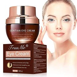 Under Eye Cream, Under Eye Bags Treatment, Anti Aging Eye Cream, Eye Repair Cream to Reduce Eye Bags/Dark Circles/Wrinkles/Fine Lines/Fat Granule