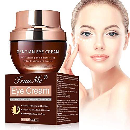 Under Eye Cream, Under Eye Bags Treatment, Anti Aging Eye Cream, Eye Repair Cream to Reduce Eye Bags/Dark Circles/Wrinkles/Fine Lines/Fat Granule