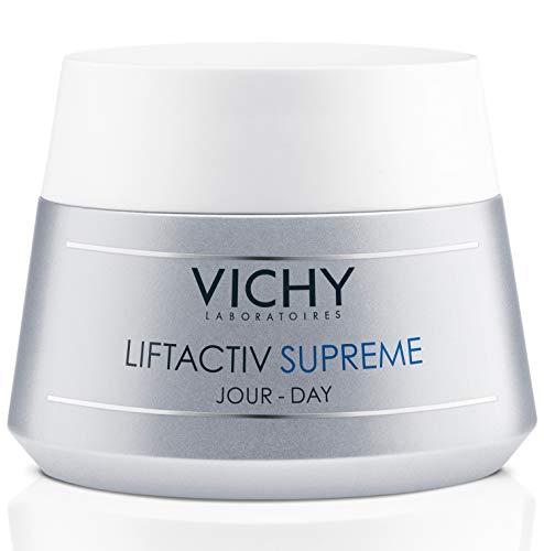 Vichy LiftActiv Supreme Anti Aging Face Moisturizer, Anti Wrinkle Cream to Firm & Illuminate, Suitable for Sensitive Skin, 1.69 Fl Oz
