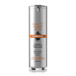 Energize Vitamin C Serum for Face & Eyes – Clinical Strength Collagen Booster with Triple Vitamin C – Dermatologist Developed Skin Care For Anti-aging, Fades Dark Spots and Repairs Sun Damage 1oz