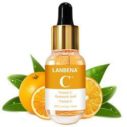 Vitamin C Serum for Face and Skin – With Hyaluronic Acid, Niacinamide, Retinol – Natural Anti Aging, Anti Wrinkle Serum for Skin Brightening and Moisturizing – 1.37 Fl. Oz