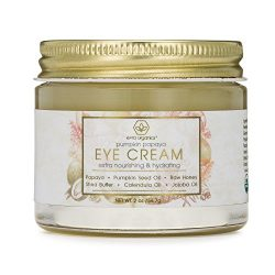 Rejuvenating Eye Cream Extra Nourishing & Moisturizing USDA Organic Anti Aging Eye Treatment Balm for Dark Circles, Under Eye Bags, Puffiness & Wrinkles with Jojoba Oil, Argan Oil & More Era-Organics