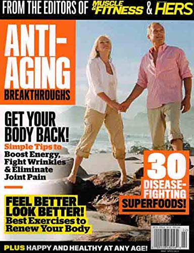 Muscle&Fitness &Hers February 2019 Anti Aging
