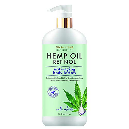 Hemp Body Lotion Retinol Anti-Aging 32oz / 960ml by Pharm to Table