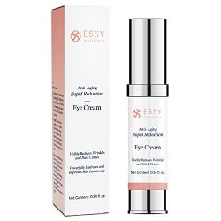 EssyNaturals.Anti-Aging Rapid Reduction Eye Cream – Visibly and Instantly Reduces Wrinkles, Under-Eye Bags, Dark Circles in 120 Seconds