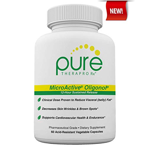 """MicroActive Oligonol """"Sustained Release"""" 60 Veg Caps 