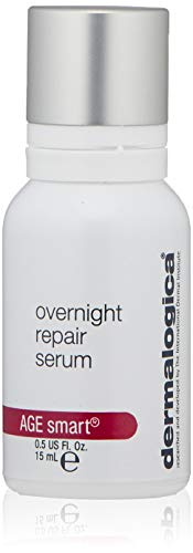 Dermalogica Overnight Repair Serum, 0.5 Fl Oz – Anti Aging Face Serum with Peptides, Argan Oil and Rose Oil