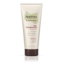 Aveeno Positively Ageless Skin Strengthening Body Cream, Moisturizes For 24 Hours 7.3 Oz