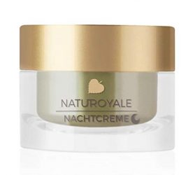 ANNEMARIE BÖRLIND – NATUROYALE Night Cream – Sustainable Natural Anti-Aging Face Night Cream for a Fresher, Smoother and Tighter Skin with a New, Youthful Glow – Step 4 of 5 – 1.69 oz.