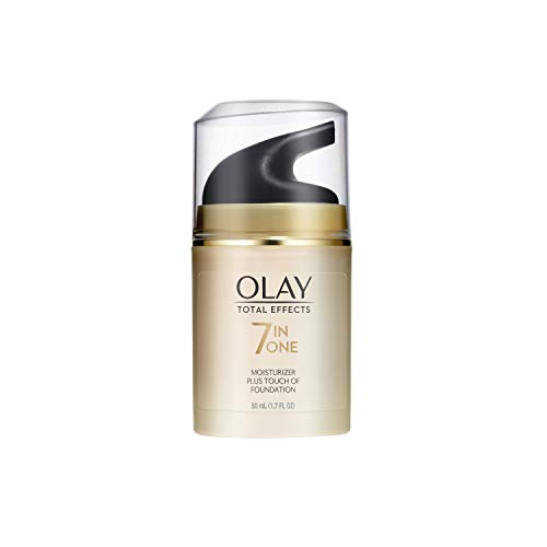 Olay Total Effects Daily Moisturizer + Touch of Foundation, 1.7 Fl. Oz (Pack of 1)